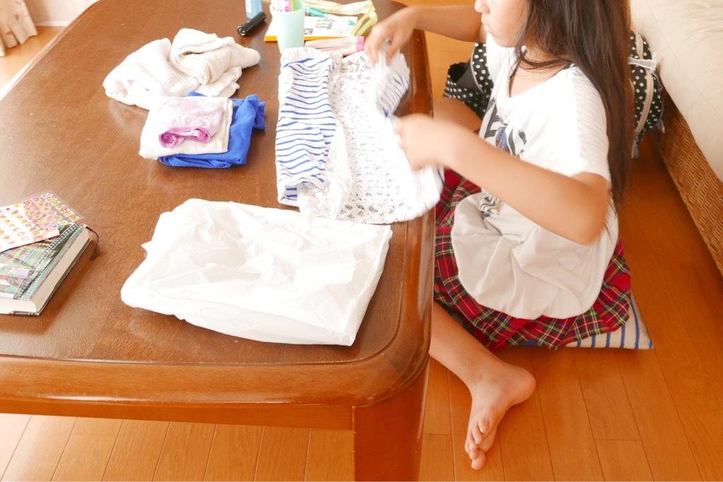自然教室荷造り中