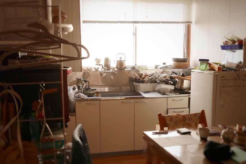 キッチン整理収納ビフォー
